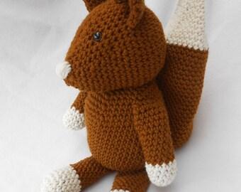 Häkeltier: Squirrel - Mr. nuts