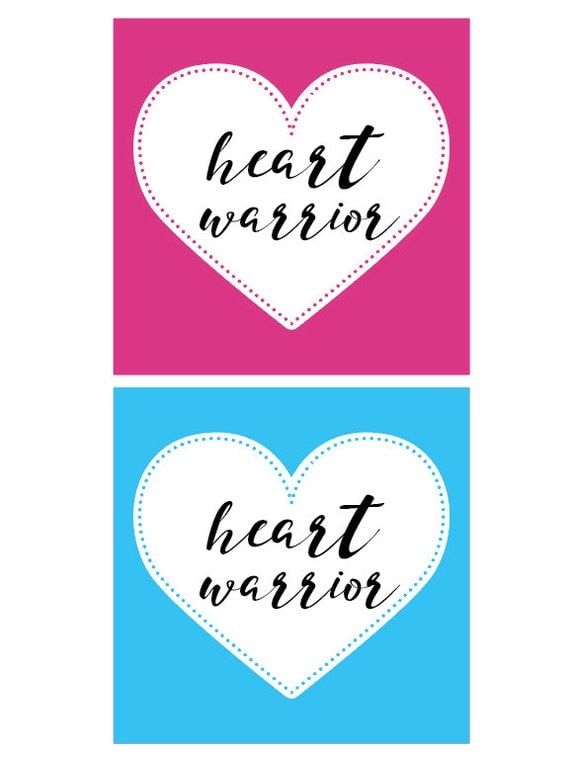 Heart Warrior NICU Milestone Card Add-On