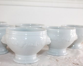Six French Onion Soup Bowls, Soup Bowls, Soup Tureens, Ceramic Bowls, Professional Quality, Dinner Service, Pottery Dinnerware, Bistro Table