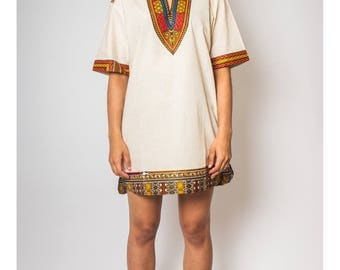 Keneba Dashiki Organic JEKKAH - African Dress - Women's