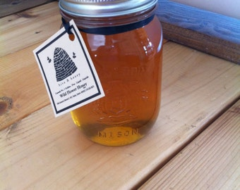 SOLD OUT! Raw Honey from the Bruce County Wildflowers 16oz