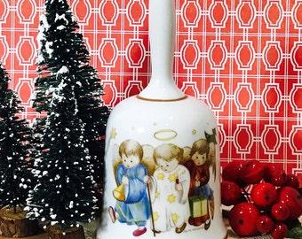 Schmid Brothers Bros Sister Berta Hummel Artwork Christmas Bell 1978