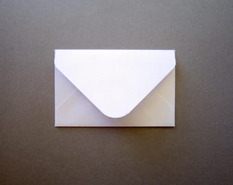2x 3.5 gift card envelopes/ Mini White Envelope/ Gift card holder / Set of 20