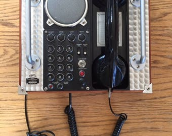 Retro Hands-Free Telephone
