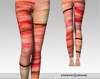 Workout Leggings • Yoga Pants • Autumn Dream 9 • Yoga Leggings • Printed Leggings, Womens Leggings, Yoga Clothes Print Tights Meditation Zen