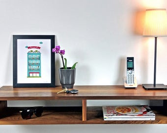 furniture for entryway. wall mounted entryway table furniture shelf entrance modern floating for