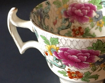 Booths Floradora...Vintage Tea Cups...Vintage English China...Booths China..Booth's Silicon China