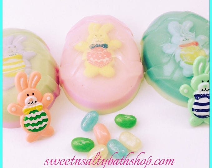 Easter Bunny Jellybean Scented Toy Inside Soap