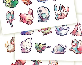 Hoenn Pokemon Stickers