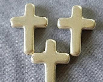 Cross, Shell Cross,  5pcs