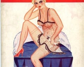 Paris Nights Magazine  1932  85 Years Old !  Risque Art Figure Models Illustrator Art  Very Collectible   see more    mature