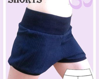Sewing Pattern: Easy Yoga shorts