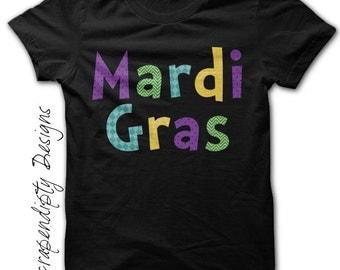 Mardi Gras Shirt - Kids Mardi Gras Clothing / Toddler Boys Colorful Tshirt / Womens New Orleans Shirt / Baby Mardi Gras T Shirt / Mens Tee