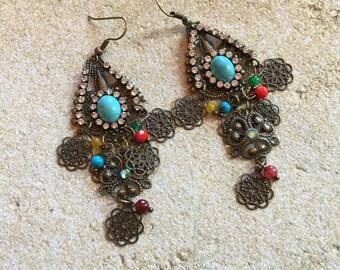 Metal Earrings, Jewelry For Her, Gift Ideas, Jewelry, Earrings, Dangle Earrings, Drop Earrings