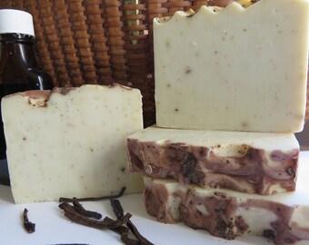 Vanilla Bean Soap, All Natural Soap, Handmade Soap, Hand Soap, Homemade Soap, Artisan Soap,New Hampshire Soap, Bath Soap, Bar Soap
