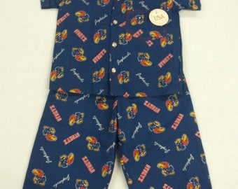 Kansas Jayhawks, Toddler Boy Shirt and Pant Outfit