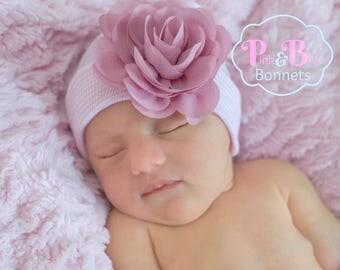Girl Newborn GIRL HATS, baby girls newborn hat, baby girl hat, girl baby hat, hat baby girl, newborn girl, newborn hat, girl baby newborn