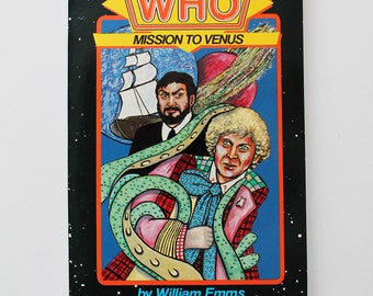 Rare Make Your Own Adventure with Doctor Who Mission To Venus 1986