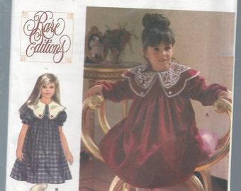 Simplicity 9377 Girls Rare Editions Dress Size 5-6X