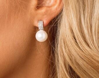 Bridal Earrings, Wedding Earrings, Bridal Jewellery, Wedding Jewellery, Bridesmaid Earrings, Pearl, Wedding Jewelry, Wedding Jewelry