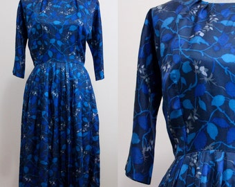 Lucy Dress | 1950s vintage midi dress