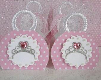 Princess Favor Boxes, Princess Party Favors, Princess Favors, Favor Boxes, Girl Favor Boxes, Birthday Favor Boxes, Princess Party Qty. 10