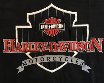 Harley Davidson Tshirt - Harley TShirt - Vintage Harley Davidson Tshirt - 90s Harley Davidson Tshirt - Large