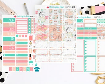HCP173 Planner Girl Functional and Decorative Weekly Set (3 Pages)