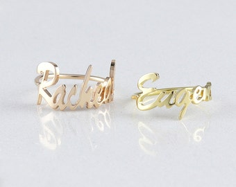Signature Jewelry •  Personalized ring  •  Message ring •  Memorial Signature Ring • Sympathy Gift • Gift for Her