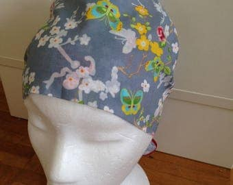 Scrub Caps are made from 100%  cotton