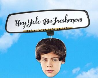 Harry Styles Air Freshener - Car Air Freshener - Fresh Scents - Pop Artist Gift