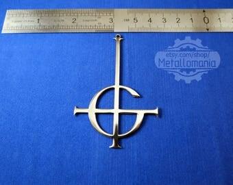 Grucifix Ghost Papa Emeritus necklace / jewelry logo pendant emblem charm symbol sign amulet talisman personalized / bc band recon rider