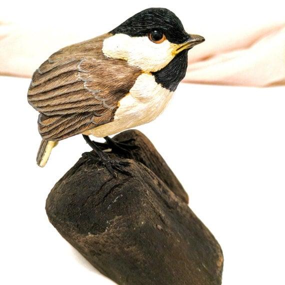 Chickadee chickadee sculpture baby chickadee chickadee - Chickadee figurine ...