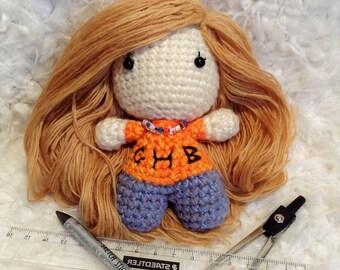Annabeth Chase Handmade Amigurumi crochet doll