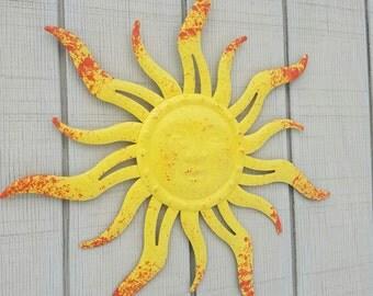 Metal Sun Wall Art metal wall art metal sun decor sun wall hanging metal wall