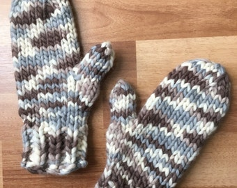 Rocky Road Mittens