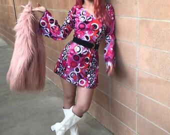 Groovy 70's Inspired Dress