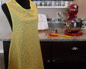 Yellow Retro Style Apron