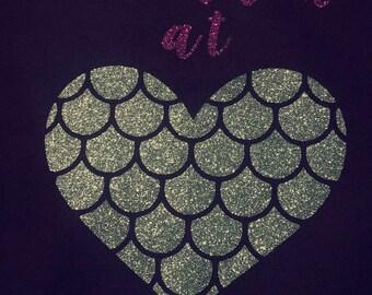 Mermaid At Heart T Shirt