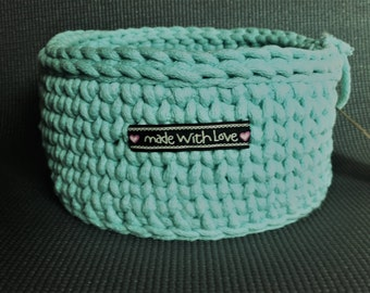 Handcrafted cotton baskets
