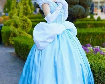 Cinderella Inspired Gown