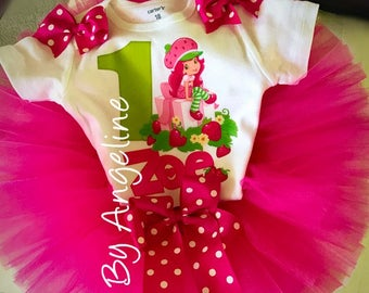 Strawberry Shortcake Tutu Dress Outfit