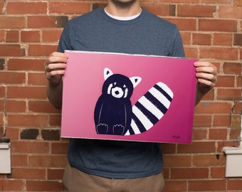 Red Panda Print - Original Art Print Direct from the Artist, 11x17 inches