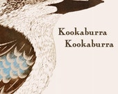 PRE-ORDER BOOK Children's Bird Book Entitled Kookaburra Kookaburra by Bridget Farmer