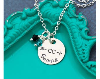 Cross Country Team Gift • Cross Country Necklace • School Team Necklaces • Track Necklace Track Team Gift • Coach Gift Runner Necklace