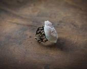 Pale Amethyst Gemstone Ring