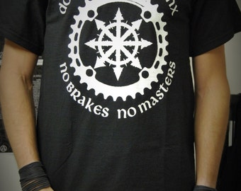 Downhill Bike Punx - No brakes No masters ~ T-shirt