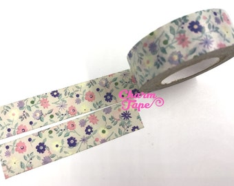 Shabby Chic floral Washi tape (15mm x 10m) WT480