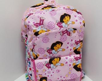 Dora in Pink Preschool Backpack