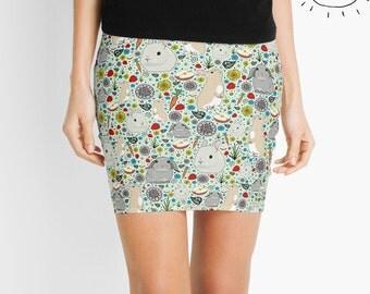 Rabbit Skirt, Rabbit Skirt for Women, Bunny Skirt, Bunny Skirt Women, Bunny Rabbit Skirt, Cute Rabbit Skirt, Cute Bunny Skirt